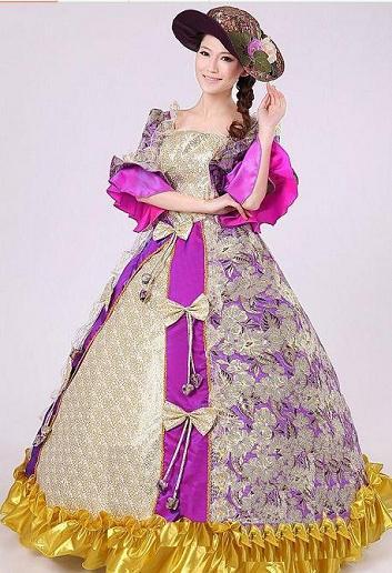 欧洲宫廷贵族服装